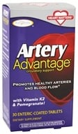 Enzymatic Therapy - Artery Advantage Circulatory Support - 30 Tablets - $19.98