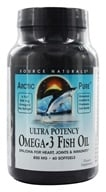 Image of Source Naturals - ArcticPure Omega-3 Fish Oil 850 mg. - 60 Softgels