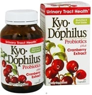 Kyolic - Kyo-Dophilus Probiotics Plus Cranberry Extract - 60 Capsules Formerly CranLogic (023542359412)