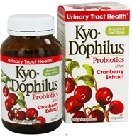Kyolic - Kyo-Dophilus Probiotics Plus Cranberry Extract - 60 Capsules Formerly CranLogic by Kyolic