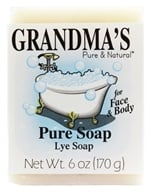 Remwood Products Co. - Grandma's Pure and Natural Lye Soap - 6 oz. (072711600183)