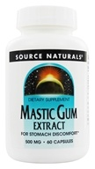 Image of Source Naturals - Mastic Gum Extract 500 mg. - 60 Capsules