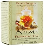 Numi Organic - Flowering Tea Petite Assorted Bouquet - 4 Blossoms