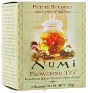 Numi Organic - Flowering Tea Petite Assorted Bouquet - 4 Blossoms, from category: Teas