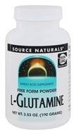 Image of Source Naturals - L-Glutamine Free Form Powder - 3.53 oz.