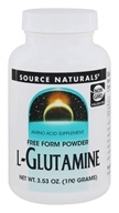 Source Naturals - L-Glutamine Free Form Powder - 3.53 oz.