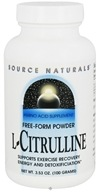 Source Naturals - L-Citrulline Free-Form Powder - 3.53 oz.