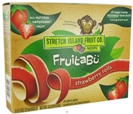 Stretch Island Fruit - Fruitabu Smoooshed Fruit Rolls (6 x .7 oz.) Strawberry - 4.4 oz.