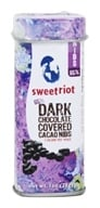 Sweetriot - Cacao Nibs Covered in 65% Dark Chocolate - 1 oz.