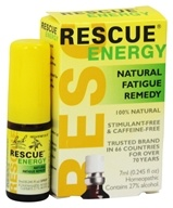 Image of Bach Original Flower Remedies - Rescue Energy - 7 ml.