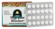 Source Naturals - Migraine Blocker Headache And Migraine Relief - 48 Tablets