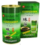Uncle Lee's Tea - Premium Gunpowder Green Tea Bulk - 5.29 oz. by Uncle Lee's Tea