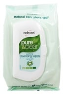 Nelsons - Pure & Clear Purifying Cleansing Wipes - 32 Wipe(s) (741273016021)