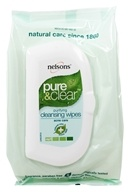 Image of Nelsons - Pure & Clear Purifying Cleansing Wipes - 32 Wipe(s)