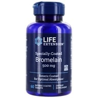 Image of Life Extension - Specially Coated Bromelain 500 mg. - 60 Tablets