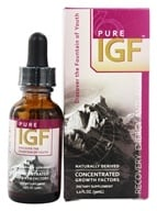 Pure Solutions - Pure IGF Concentrated Growth Factors Deer Velvet Antler Extract 5 mg. - 1 oz. by Pure Solutions