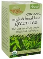 Uncle Lee's Tea - Imperial Organic English Breakfast Green Tea Decaf - 18 Tea Bags - $4.60