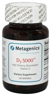 Metagenics - D3 Bioavailable Vitamin D High Potency 5000 IU - 120 Softgels