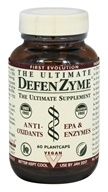 Image of Ultimate Life - The Ultimate FloraZyme (Dairy Free PreBiotics & Animal Free Enzymes) - 80 Vegetarian Capsules