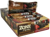 Zone Perfect - All-Natural Nutrition Bar Dark Chocolate Strawberry - 1.58 oz.