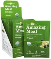 Amazing Grass - Amazing Meal Powder Packets Original Blend - 10 x 22g Packets