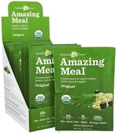 Amazing Grass - Amazing Meal Powder Packets Original Blend - 10 x 22g Packets (829835000104)