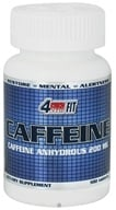 4Ever Fit - Caffeine Pharmaceutical Grade 200 mg. - 100 Tablets Formerly Anhydrous by 4Ever Fit