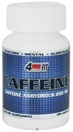 4Ever Fit - Caffeine Pharmaceutical Grade 200 mg. - 100 Tablets Formerly Anhydrous