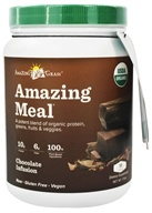 Image of Amazing Grass - Amazing Meal Powder 15 Servings Chocolate Infusion - 17.3 oz. LUCKY PRICE
