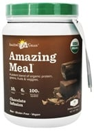 Amazing Grass - Amazing Meal Powder 15 Servings Chocolate Infusion - 17.3 oz. LUCKY PRICE - $27.90