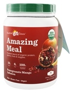 Amazing Grass - Amazing Meal Powder 15 Servings Pomegranate Mango Infusion - 15.5 oz. LUCKY PRICE by Amazing Grass