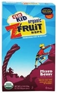 Clif Bar - Kid Organic Twisted Fruit Rope Mixed Berry - 6 Pack (722252381026)