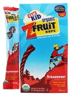 Image of Clif Bar - Kid Organic Twisted Fruit Rope Strawberry - 6 Pack