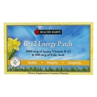 Healthy Habits - B-12 Energy Patch - 8 Patch(es), from category: Vitamins & Minerals