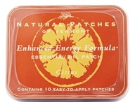 Natural Patches of Vermont - Aromatherapy Body Patch Essential Oil Blend Citrus Fusion - 10 Patch(es) Formerly Naturopatch