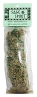 Sage Spirit - Smudge Wand Large Sage & Sweetgrass - 6 in. - $4.60