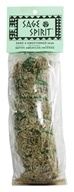 Image of Sage Spirit - Smudge Wand Large Sage & Sweetgrass - 6 in.