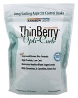 Image of Rainbow Light - ThinBerry Opti-Curb Brown Rice Protein Formula with Svetol® Cinnamon Twist - 11.2 oz.