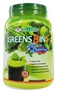 Image of Olympian Labs - Greens Protein 8 in 1 Delicious Blueberry Flavor - 775 Grams