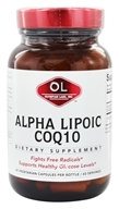 Olympian Labs - Alpha Lipoic Coenzyme Q10 200 mg. - 60 Vegetarian Capsules