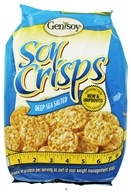 Genisoy - Soy Crisps Naturally Flavored Deep Sea Salted - 3.85 oz.