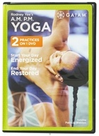 Image of Gaiam - AM and PM Yoga DVD with Rodney Yee & Patrica Walden