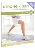 Gaiam - Strong Knees DVD by Gaiam