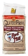 Bob's Red Mill - Hot Cereal Creamy Rice Farina Gluten Free - 26 oz., from category: Health Foods