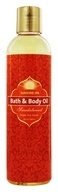 Image of Sunshine Spa - Bath & Body Oil Sandalwood - 8 oz.