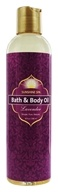Image of Sunshine Spa - Bath & Body Oil Lavender - 8 oz.