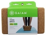 Image of Gaiam - Cork Yoga Block