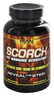 MAN Sports - Scorch Ultimate Fat-Burning Sensation with Raspberry Ketones - 168 Capsules CLEARANCE PRICED