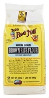 Image of Bob's Red Mill - Brown Rice Flour Whole Grain Gluten Free - 24 oz.