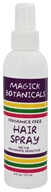 Magick Botanicals - Hair Spray Fragrance Free - 6 oz.